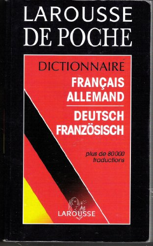 9782034011320: Larousse Du Poche Dictionnaire Francais-Allemand (French and German Edition)