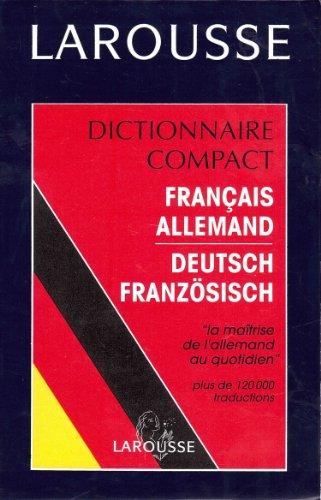 9782034016332: Dictionnaire compact français-allemand, allemand-français