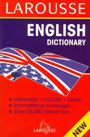 9782034202902: Larousse English Dictionary