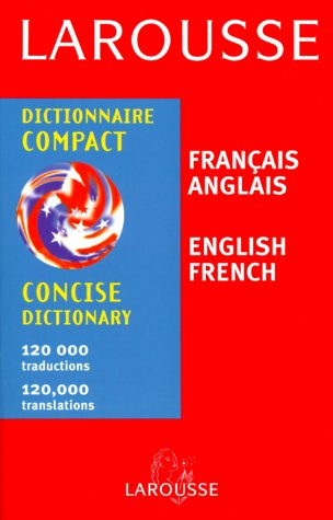 9782034205026: Larousse Concise Dictionary French English/English French