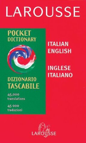 Larousse Pocket Italian/English English/Italian Dictionary