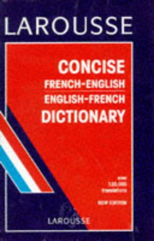 9782034303005: Larousse Concise French-English, English-French Dictionary
