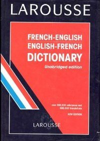 Larousse French/English Dictionary: Scol