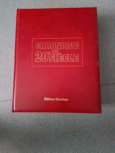 9782035032010: Chronique du 20e siècle [1900-1984]