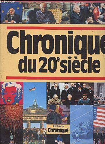 9782035032690: Chronique du 20e siècle, [1900-1989]