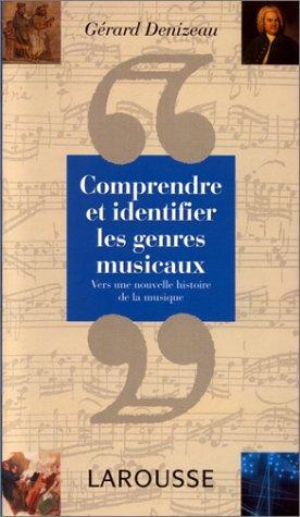 9782035041104: Comprendre et identifier les genres musicaux