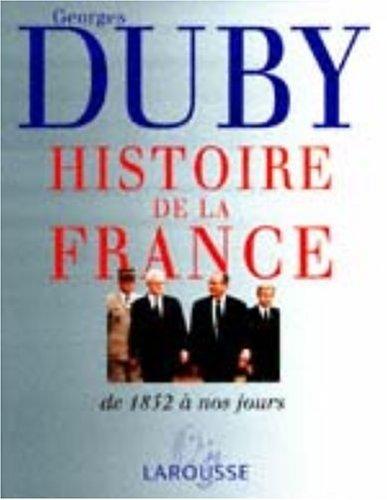 9782035050489: Histoire de la France. : Volume 3, Les temps nouveaux, de 1852 à nos jours (Histoire de Fra)