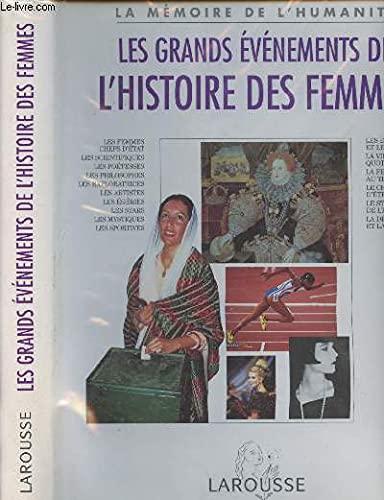 9782035053022: Les grands événements de l'histoire des femmes