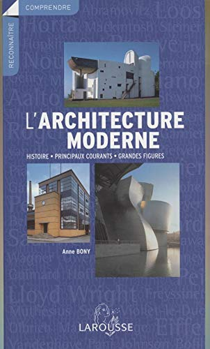 Anne bony used books rare books and new books for L architecture moderne