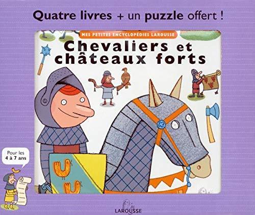 9782035120359: Mes petites encyclop�dies Larousse : Quatre livres plus un puzzle offert