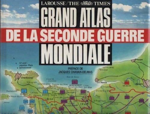 9782035211118: GRAND ATLAS DE LA SECONDE GUERRE MONDIALE