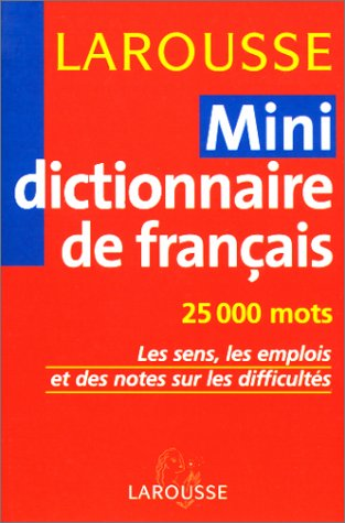 9782035320339: Mini-dictionnaire de fran�ais