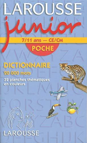 9782035322609: Larousse Junior Poche : CE-CM, 7-11 ans