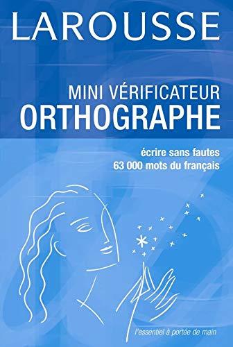 9782035322623: Mini Verificateur Orthographe