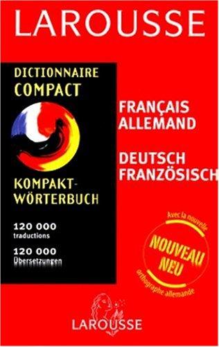 9782035400086: Dictionnaire Compact : Allemand/français, français/allemand