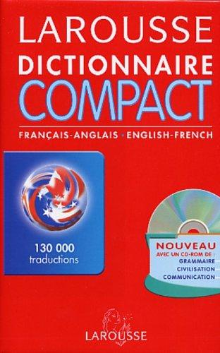 9782035400406: Larousse Dictionnaire Compact Francais Anglais Anglais Francais: Larousse Concise Dictionary French English English French (French Edition)