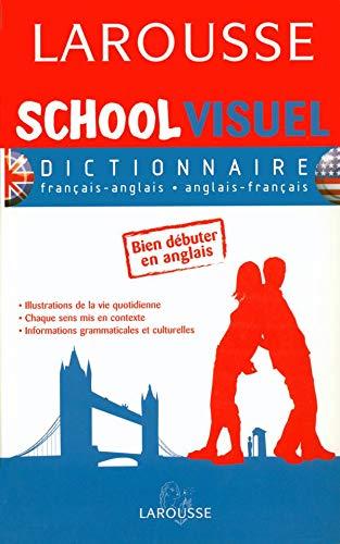 9782035401168: School Visuel : Dictionnaire fran�ais-anglais et anglais-fran�ais