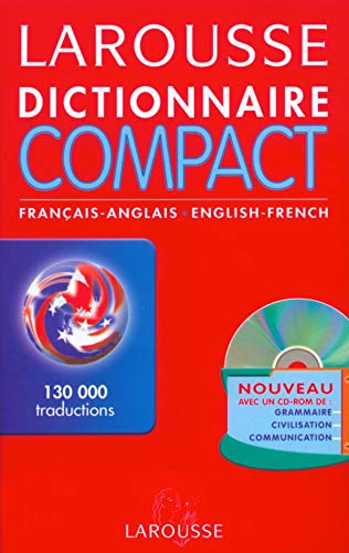 9782035401304: Dictionnaire Compact : Anglais/français, français/anglais (CD-Rom inclus)