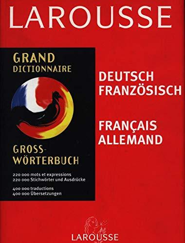 9782035405333: GRAND DICTIONNAIRE FRANCAIS ALLEMAND ET ALLEMAND FRANCAIS. Seconde édition 1999 : GROSS-WORTERBUCH DEUTSCH FRANZOSISCH FRANZOSISCH DEUTSCH. Ausgabe 1999