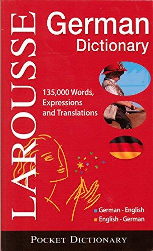 Larousse Pocket Dictionary: German-English / English-German (Paperback): Larousse