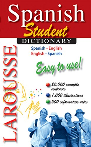9782035410146: Larousse Student Dictionary Spanish-English/English-Spanish (Spanish and English Edition)
