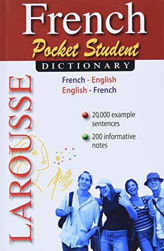 9782035410405: Larousse Pocket Student Dictionary French-English/English-French (French and English Edition)