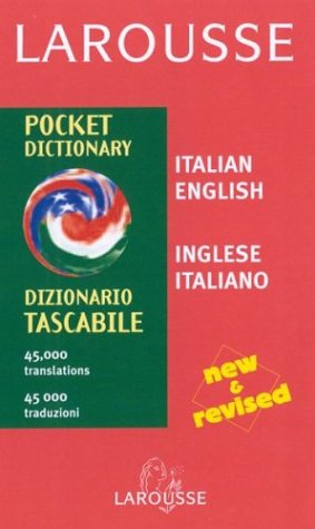 9782035420459: Larousse Pocket Dictionary: Italian-English/English-Italian (Larousse Dictionary) (Italian Edition)