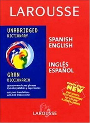 9782035420701: Larousse Gran Diccionario: Ingles-Espanol Espanol-Ingles  (Larousse Diccionario/Dictionary (English-Spanish/Espanol-Ingles)) (Spanish  Edition) - AbeBooks: 2035420709
