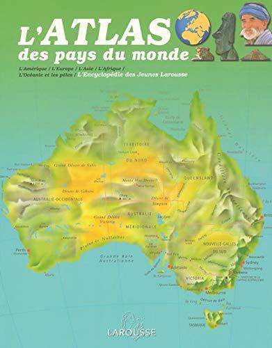 L'Atlas des pays du monde (French Edition): Claude Naudin