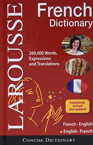 9782035700018: Larousse Concise French-English/English-French Dictionary (English and French Edition)