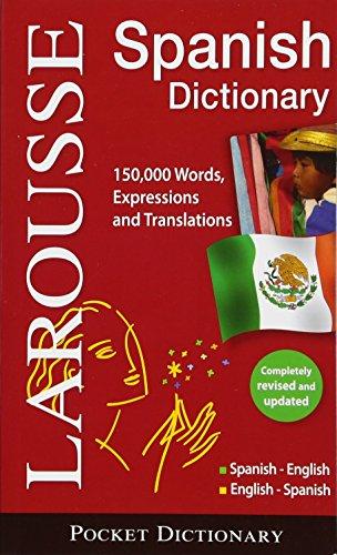 9782035700490: Larousse Pocket Dictionary Spanish-English/English-Spanish