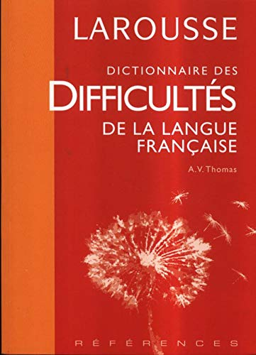 9782035712431: Larousse Dictionnaire Des Difficultes De LA Langue Francaise
