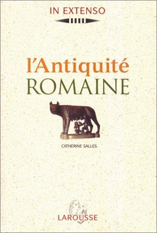 9782035750594: L'antiquité romaine
