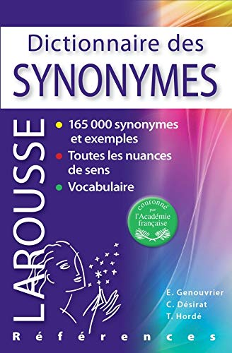9782035826985: Dictionnaire des Synonymes (French Edition)