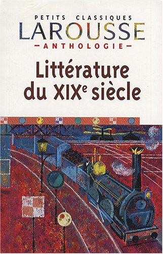 Anthologie de la littérature française du XIXe: Anne-Elisabeth Halpern