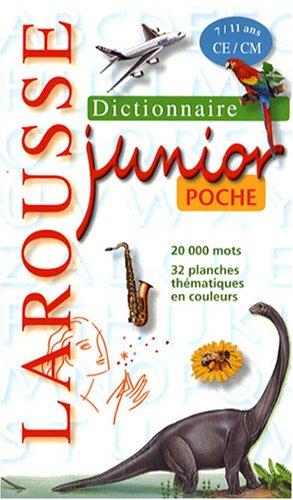 9782035832993: Larousse Junior Poche 7/11 Ans Édition 2008