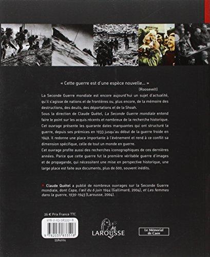 9782035833518: Larousse de la Seconde Guerre mondiale