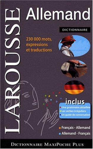 9782035837752: Dictionnaire Maxipoche plus francais-allemand/allemand-francais (French Edition)