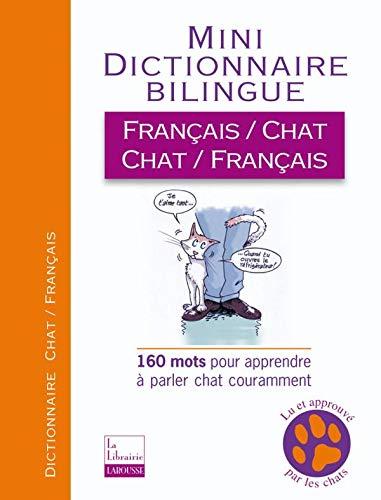 9782035838155: Mini-dictionnaire bilingue français-chat/chat-français