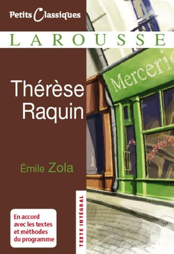 9782035839251: Therese Raquin (Petits Classiques Larousse)