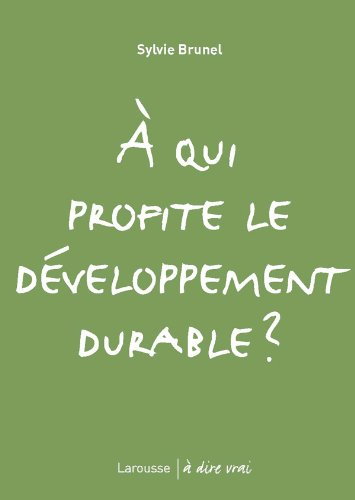 9782035839725: A qui profite le développement durable ?