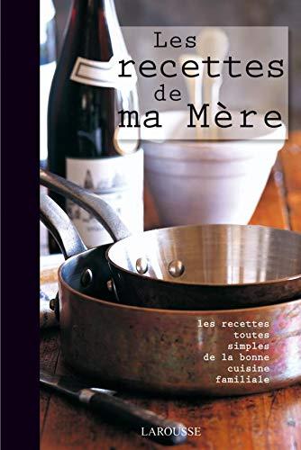 9782035841230: Les recettes de ma mère