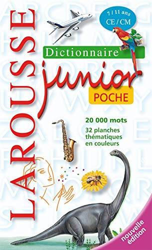 9782035841674: Larousse Junior Poche 7/11 ans (French Edition)