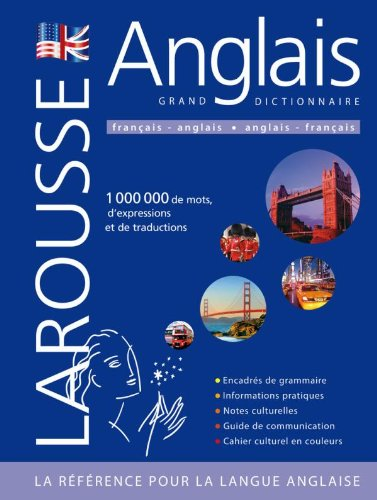 9782035842312: grand dictionnaire français-anglais / Anglais - Francais (Larousse) (French Edition)