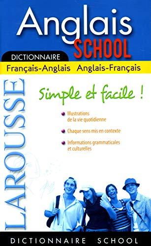 Larousse Dictionnaire School Anglais Fran-ang / Ang-fran: Collectif