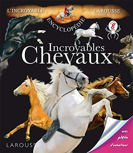 9782035846709: Incroyables Chevaux (French Edition)