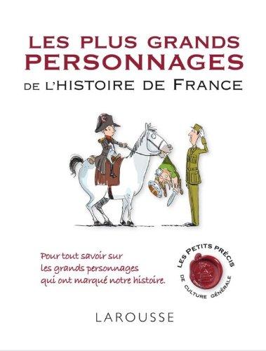 9782035856326: les plus grands personnages de l'histoire de France