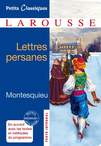 9782035859181: Lettres Persanes - Classiques Larousse (French Edition)