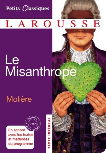 9782035861559: Le Misanthrope (Petits Classiques Larousse)