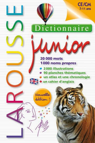 9782035862730: Dictionnaire Larousse Junior 7/11 ans (French Edition)